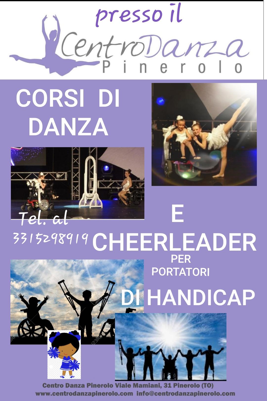 Corsi di danza e cheerleader per portatori di handicap