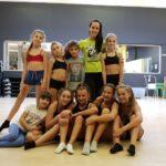 Allenamenti Cheerleader con Danijela Nedeiljkovic